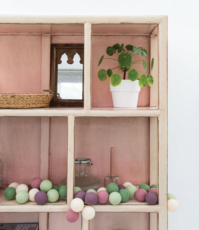 COTTON BALL LIGHTS Inspiration | Living Room | Regular Forest Fruit String Light