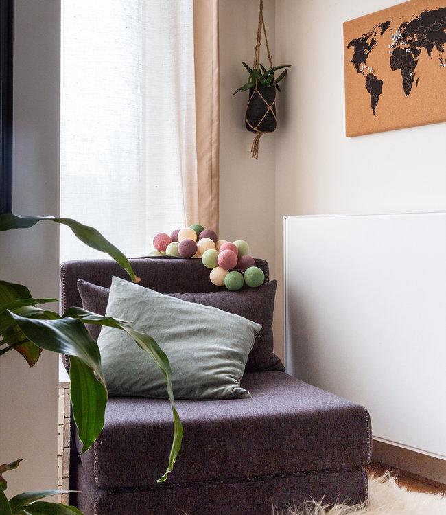 COTTON BALL LIGHTS Inspiration | Living Room | Regular Forest Fruit String Light 2