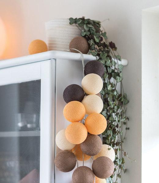 COTTON BALL LIGHTS Inspiration   Living Room   Regular Clay String Light