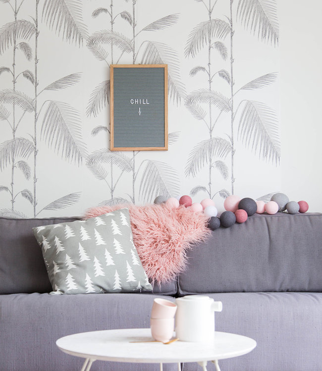LEDR Inspiratie | Woonkamer | Grey letterboard Premium Perfect Combi