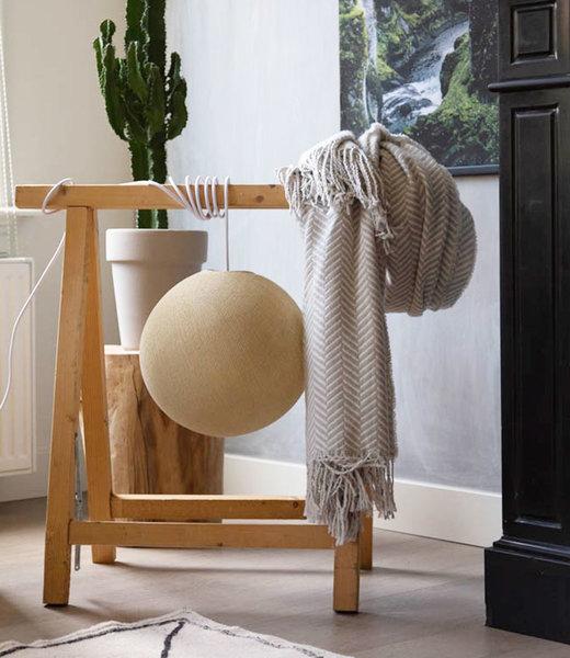 COTTON BALL LIGHTS Inspiration | Bedroom | Cream Wandering Lamp