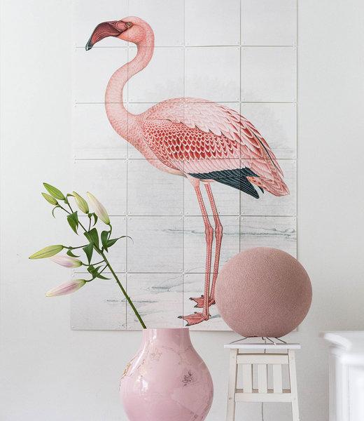 COTTON BALL LIGHTS Inspiration   Wohnzimmer   Pale Pink Standing Lamp