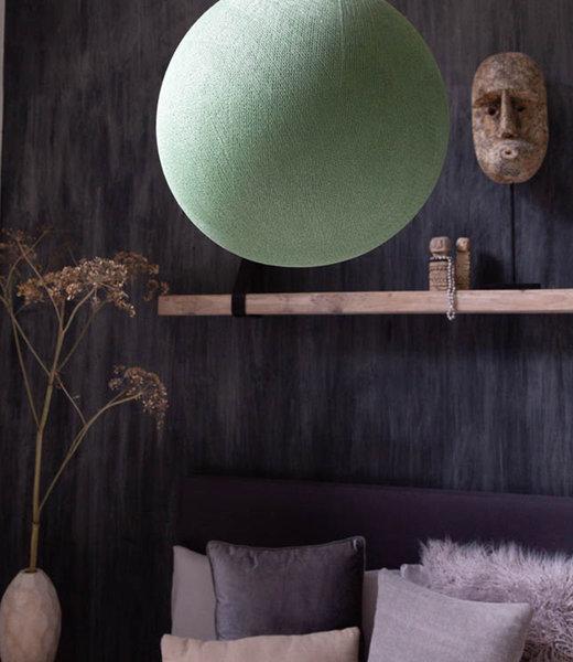 COTTON BALL LIGHTS Inspiratie | Slaapkamer | Powder Green Hanglamp