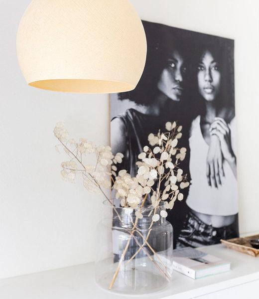 COTTON BALL LIGHTS Inspiration | Bedroom | Shell Three Quarter Lamp