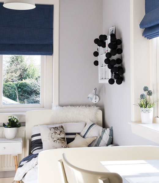 COTTON BALL LIGHTS Inspiratie | Slaapkamer | Regular Black Lichtslinger