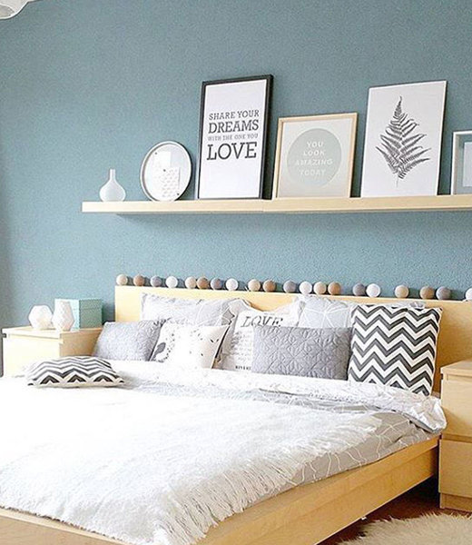 COTTON BALL LIGHTS Inspiration | Bedroom | Regular Sand Grey