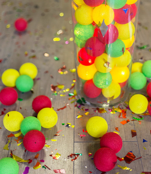 Inspiration | Party | Carnaval Red Green Yellow