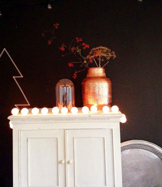 COTTON BALL LIGHTS Inspiration | Party | Regular String Light White