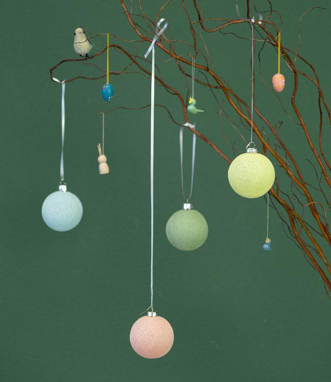 Inspiratie | Feest | Pasen Aqua Peach Sage Green Soft Yellow