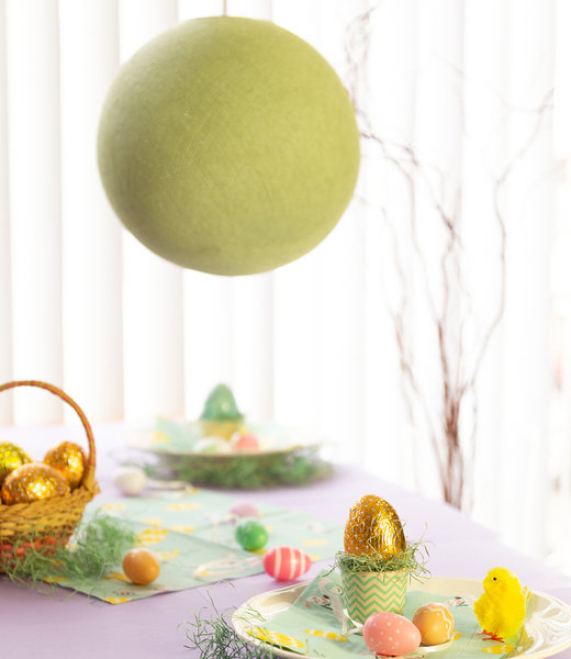 Inspiration | Party | Easter Hanging Lamp Sage Green
