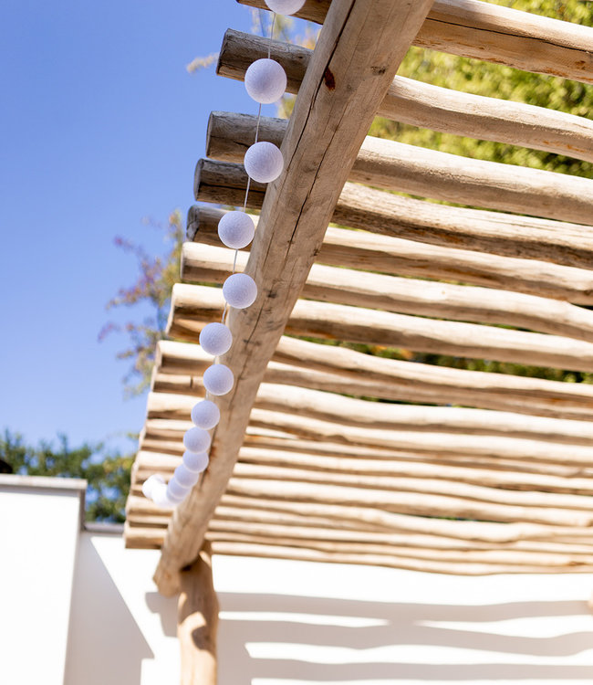 LUBANIDA Inspiratie | Tuin | Outdoor Cottonball Lichtslinger Blanco 3