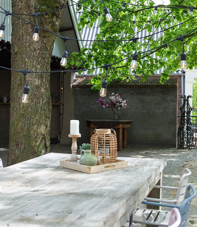 COTTON BALL LIGHTS Inspiratie | Tuin | Outdoor Premium Patio Lichtslinger 3