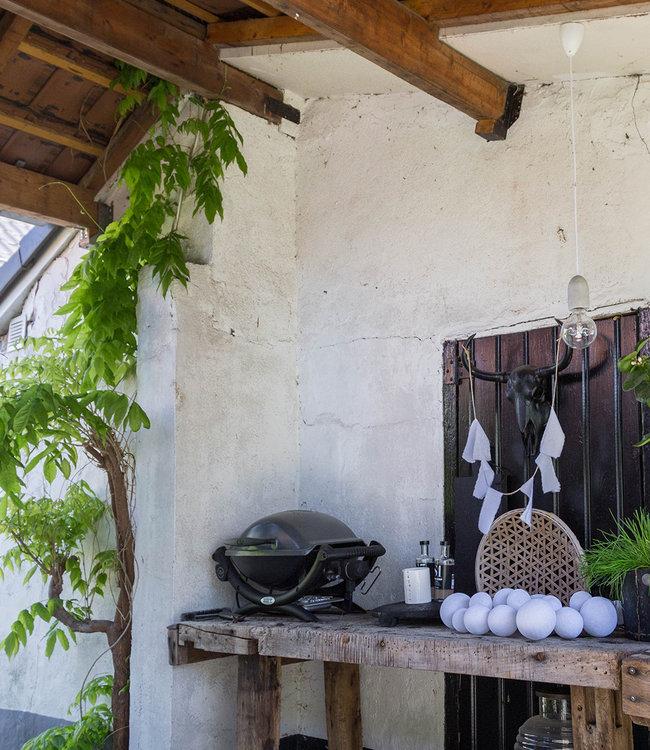 COTTON BALL LIGHTS Inspiratie | Tuin | Premium Lichtslinger Pure Whites 2