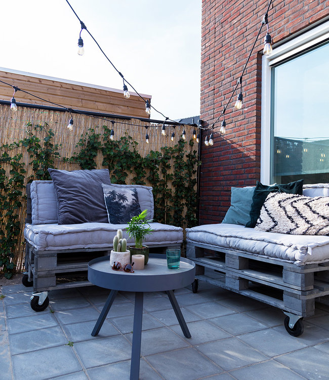 COTTON BALL LIGHTS Inspiration   Garden   Outdoor Premium Patio 4