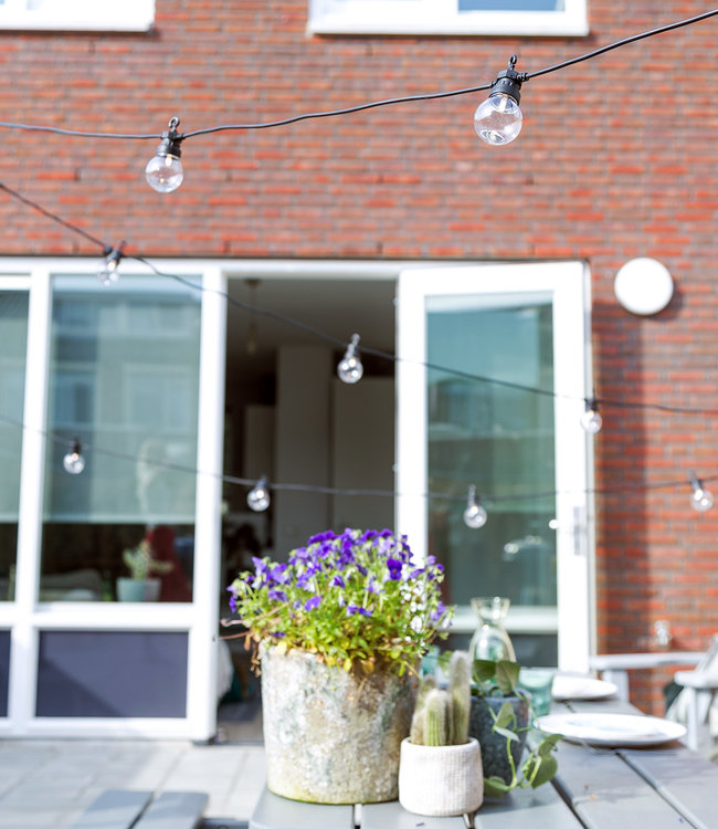 COTTON BALL LIGHTS Inspiratie | Tuin | Outdoor Regular Patio Lichtslinger 2