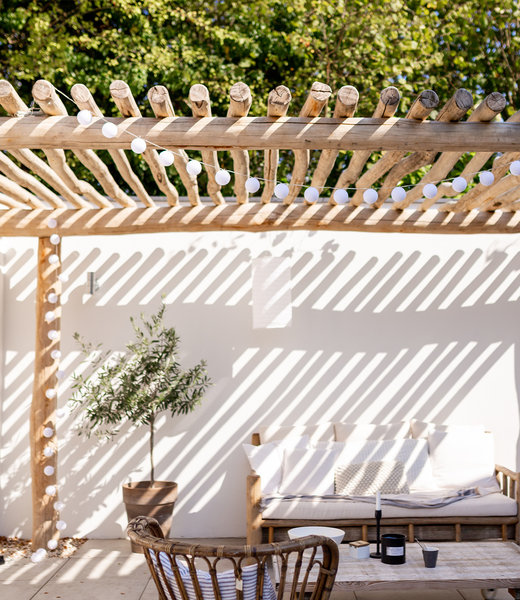 LUBANIDA Inspiratie | Tuin | Outdoor Cottonball Lichtslinger Blanco
