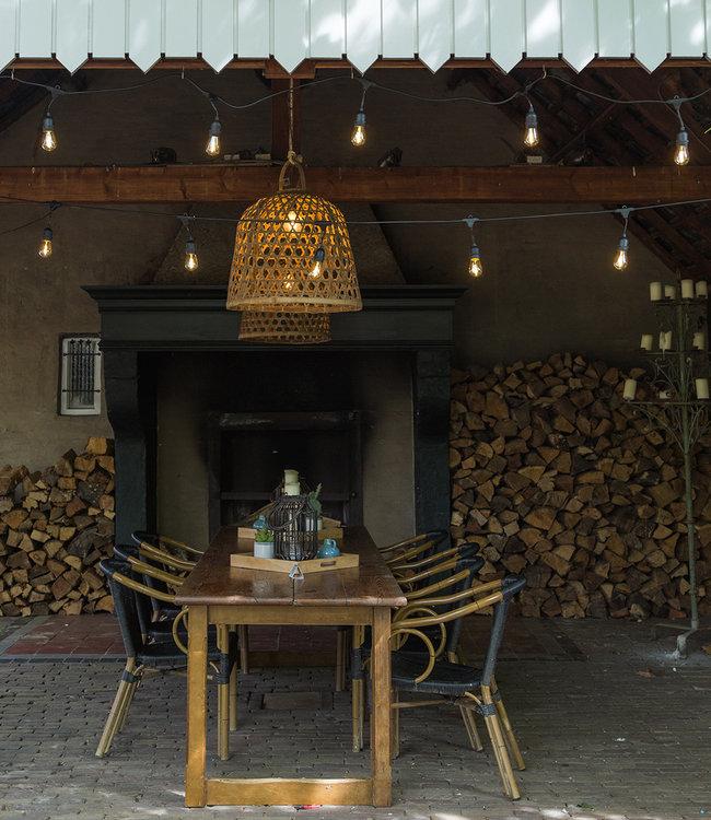 COTTON BALL LIGHTS Inspiratie | Tuin | Outdoor Premium Patio Lichtslinger 1