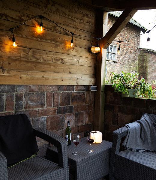 LUBANIDA Inspiration | Garden | Outdoor Premium Patio Book Lamp