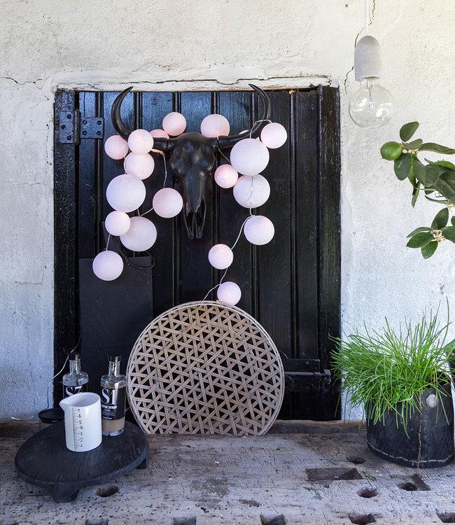 COTTON BALL LIGHTS Inspiratie | Tuin | Premium Lichtslinger Pure Whites