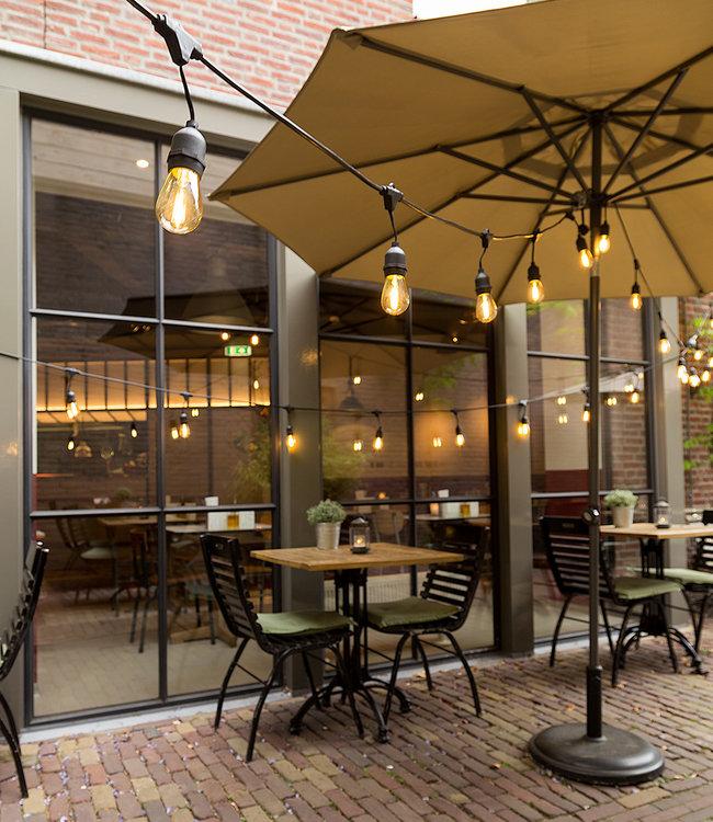 COTTON BALL LIGHTS Inspiration   Garden   Outdoor Premium Patio 5