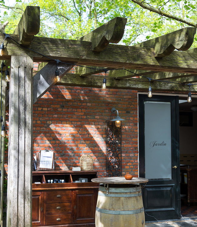 LUBANIDA Inspiratie | Tuin | Outdoor Premium Patio Lichtslinger 2