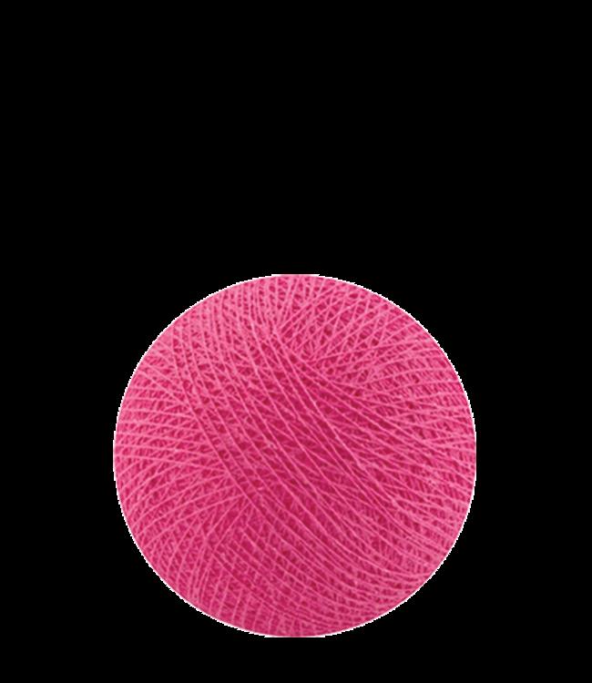 COTTON BALL LIGHTS Indoor Bright Pink