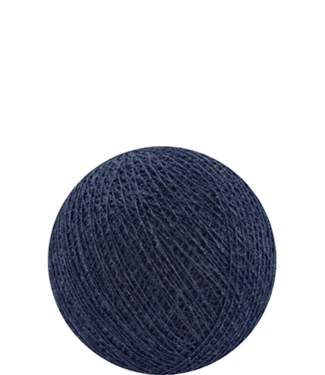 COTTON BALL LIGHTS Indoor Dark Blue