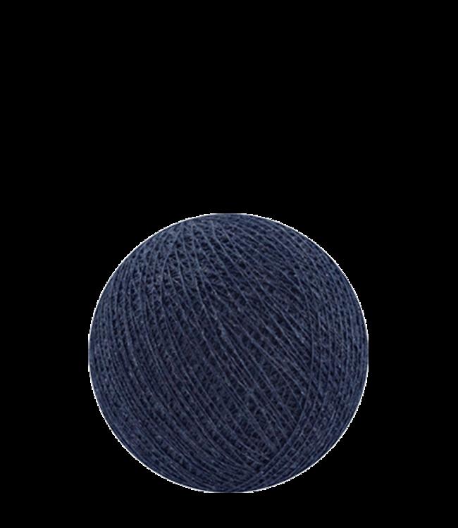 COTTON BALL LIGHTS Indoor Dark Blue