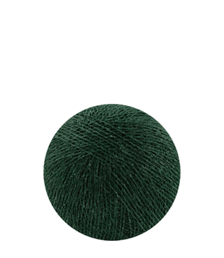 COTTON BALL LIGHTS Dark Green