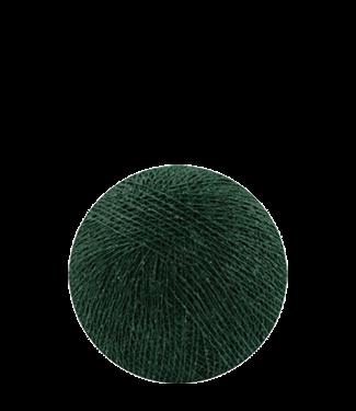 COTTON BALL LIGHTS Indoor Dark Green