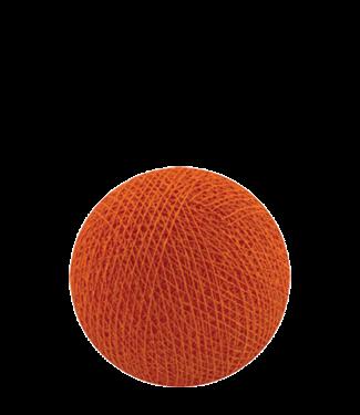 COTTON BALL LIGHTS Dutch Orange