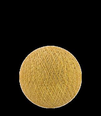 COTTON BALL LIGHTS Indoor Gold Brass