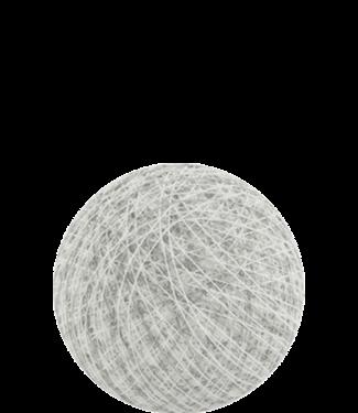 COTTON BALL LIGHTS Indoor Mix White Stone
