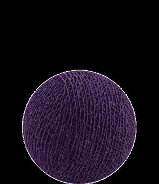 COTTON BALL LIGHTS Indoor Purple