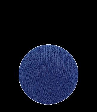 COTTON BALL LIGHTS Indoor Royal Blue