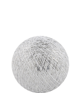 COTTON BALL LIGHTS Indoor Silver White