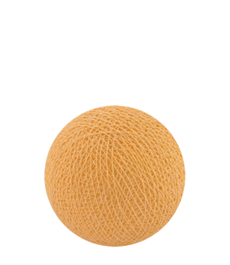 COTTON BALL LIGHTS Soft Orange