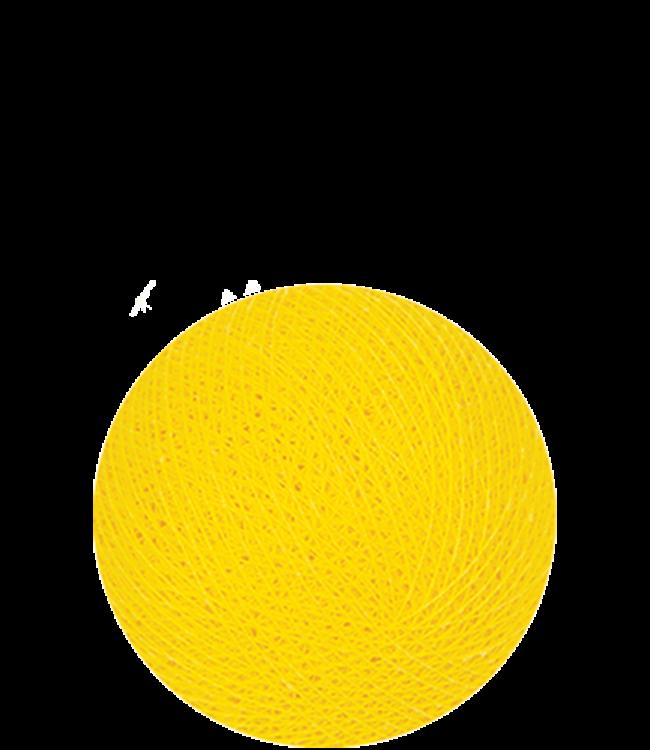 COTTON BALL LIGHTS Indoor Yellow