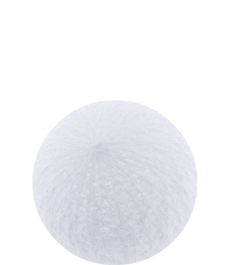 COTTON BALL LIGHTS Outdoor White