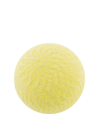 COTTON BALL LIGHTS Outdoor Soft Yellow