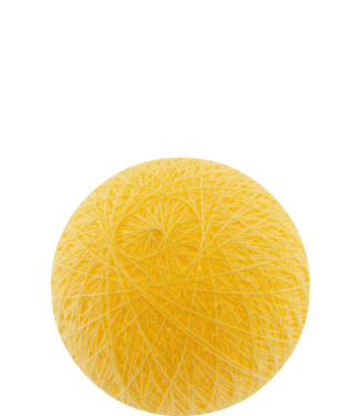 COTTON BALL LIGHTS Outdoor Soft Orange
