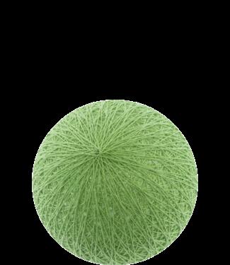 COTTON BALL LIGHTS Sage Green