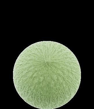 COTTON BALL LIGHTS Outdoor Powder Green