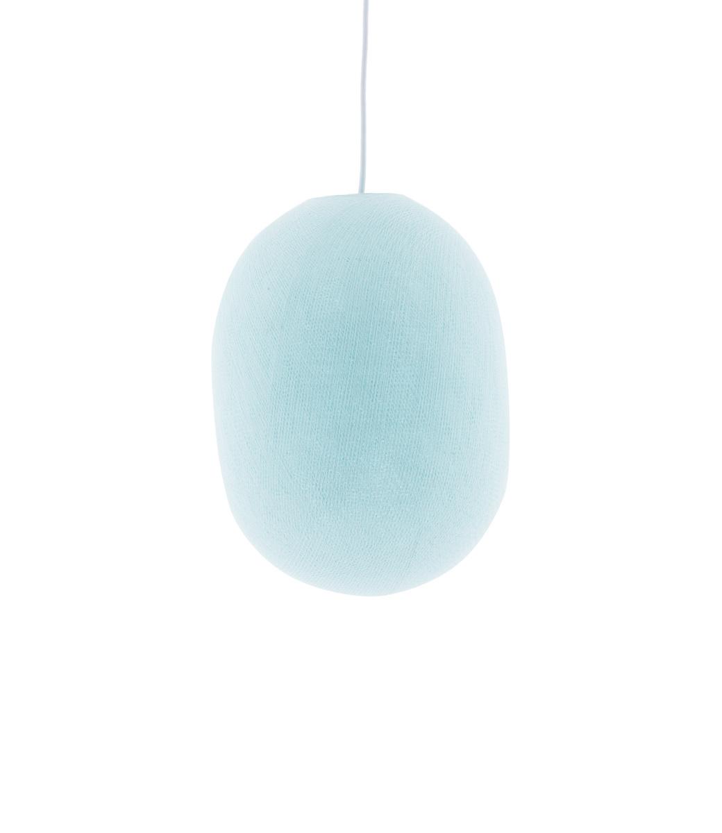 Cotton Ball Lights Oval hanglamp licht blauw - Light Aqua