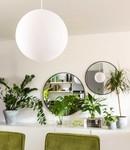 COTTON BALL LIGHTS Cotton Ball Lights enkelvoudige hanglamp wit - White