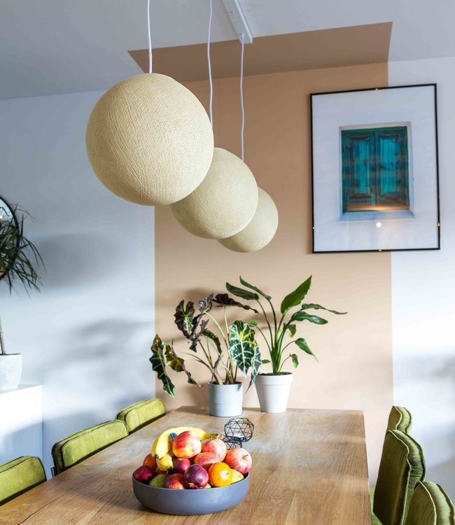 COTTON BALL LIGHTS Hanging Lamp - Cream