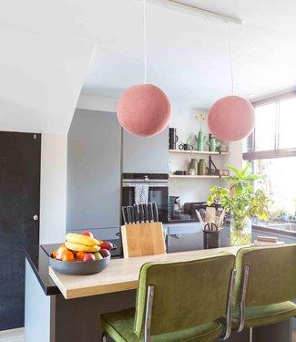 COTTON BALL LIGHTS Hanglamp - Pale Pink