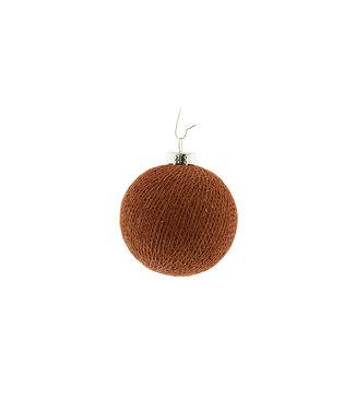 COTTON BALL LIGHTS Kerstmis Cotton Ball - Copper