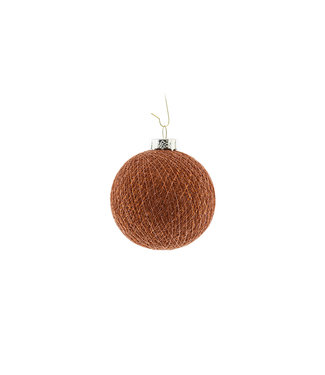 COTTON BALL LIGHTS Kerstmis Cotton Ball - Copper Copper