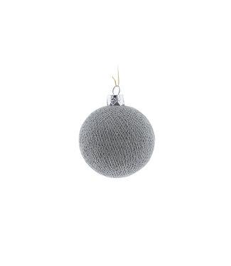 COTTON BALL LIGHTS Christmas Cotton Ball - Stone